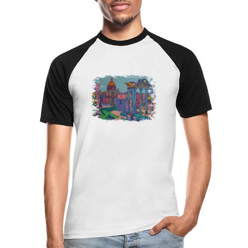 Rom - Männer Baseball-T-Shirt