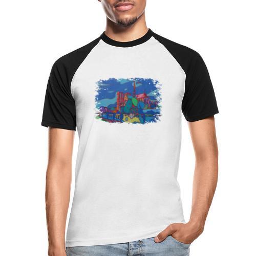 Paris - Männer Baseball-T-Shirt