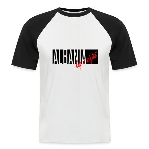 Albanien kuq e zinjtë - Männer Baseball-T-Shirt