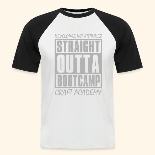 Straight Outta Bootcamp - Men's Baseball T-Shirt