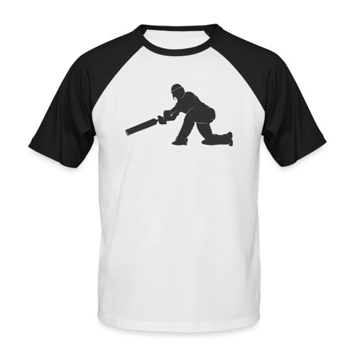 cricketer - Men's Baseball T-Shirt