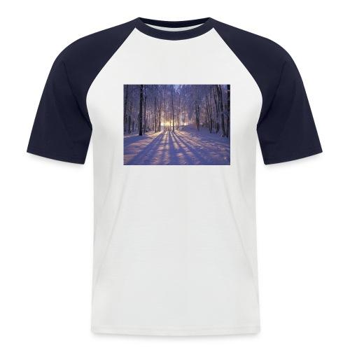Wintercollectie - Mannen baseballshirt korte mouw
