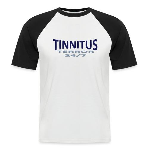 terror - Kortermet baseball skjorte for menn