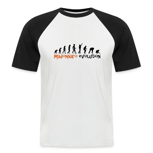 madonnaro evolution original - Men's Baseball T-Shirt