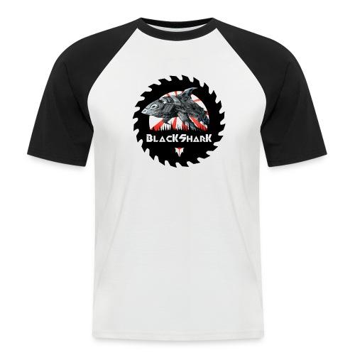 BlacKSharK Logo 2014 - Männer Baseball-T-Shirt