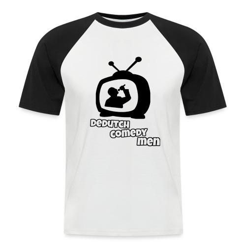 DeDutchComedyMen - Mannen baseballshirt korte mouw