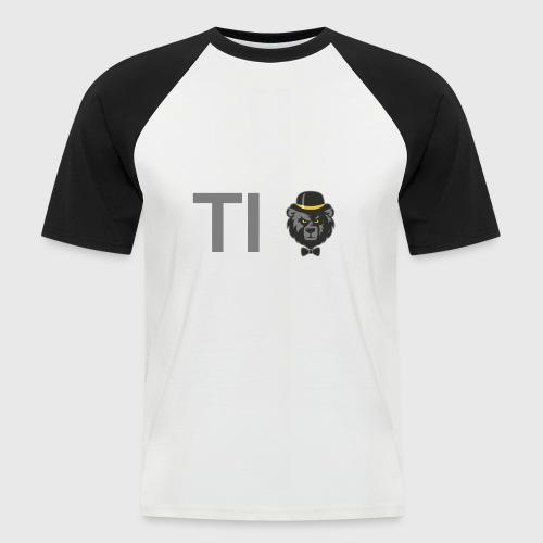 Arcticus font - Men's Baseball T-Shirt