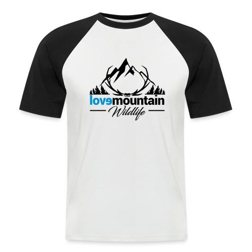 Mountain - Maglia da baseball a manica corta da uomo