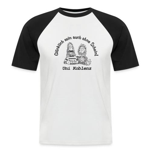 Uni Koblenz - Männer Baseball-T-Shirt