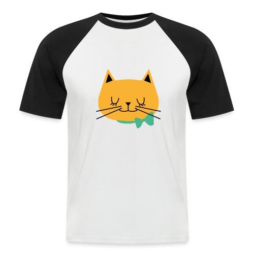 cat - T-shirt baseball manches courtes Homme