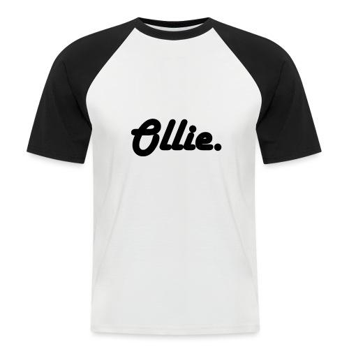 Ollie Harlow Solid - Mannen baseballshirt korte mouw