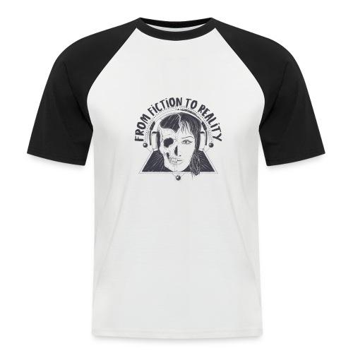 ''From Fiction To Reality'' Merchandise - Mannen baseballshirt korte mouw
