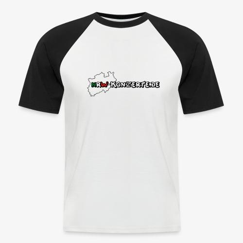 nrw-konzerte-logo-shop - Männer Baseball-T-Shirt