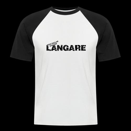 LANGARE - Kortärmad basebolltröja herr