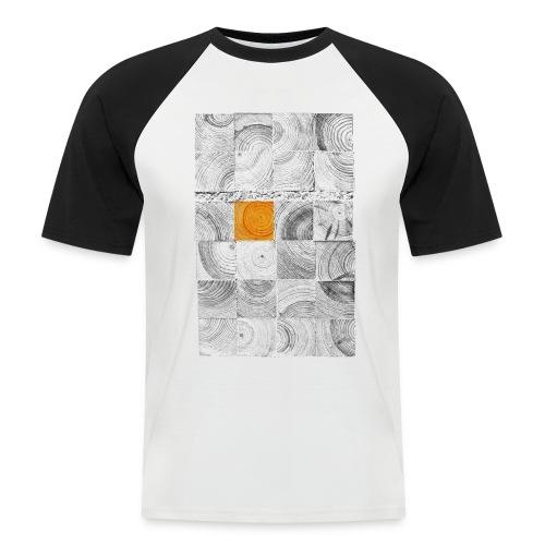 Cubes de Bois - T-shirt baseball manches courtes Homme