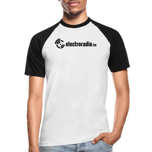 electroradio.fm - Men's Baseball T-Shirt