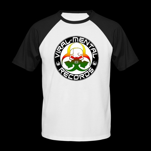 Viral Mental Records Logo - Men's Baseball T-Shirt
