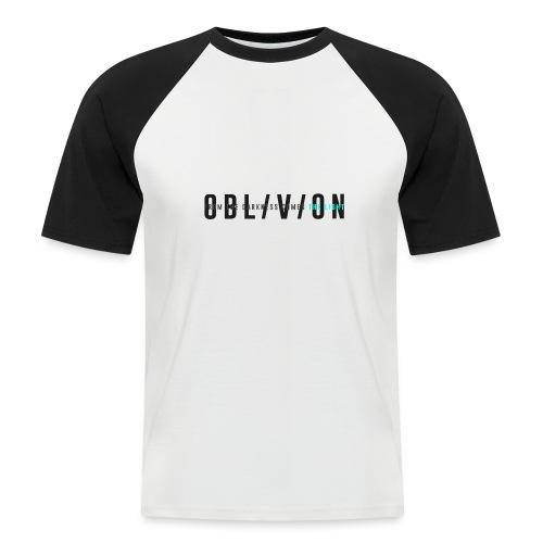 OBL/V/ION - Maglia da baseball a manica corta da uomo