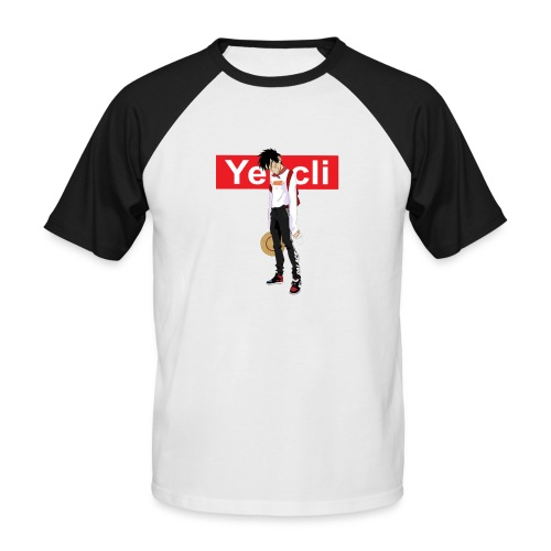 Yencli x One Piece Luffy - T-shirt baseball manches courtes Homme