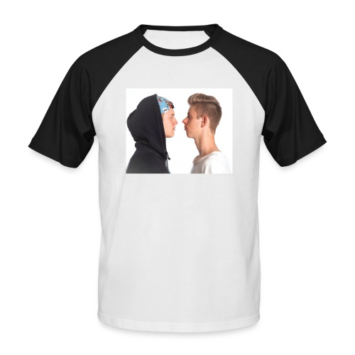 tshirt yea jpg - Kortærmet herre-baseballshirt