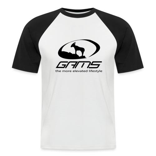 GAM5 - Männer Baseball-T-Shirt