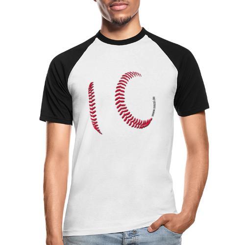ball-nah_01t - Männer Baseball-T-Shirt