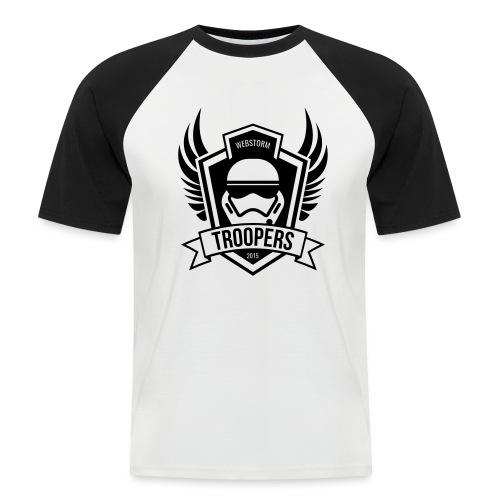 webstormtroopers_light_sh - Männer Baseball-T-Shirt