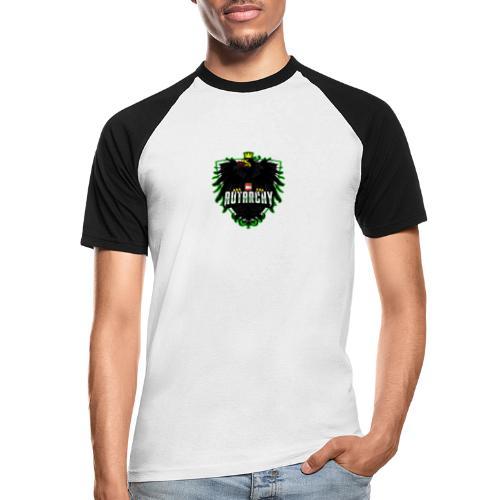 AUTarchy green - Männer Baseball-T-Shirt