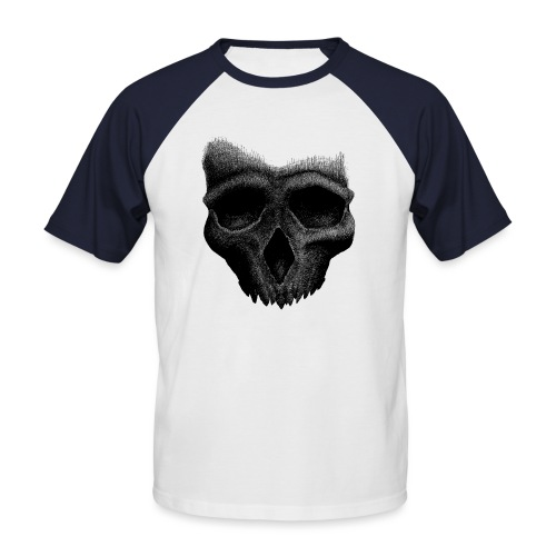 Simple Skull - T-shirt baseball manches courtes Homme