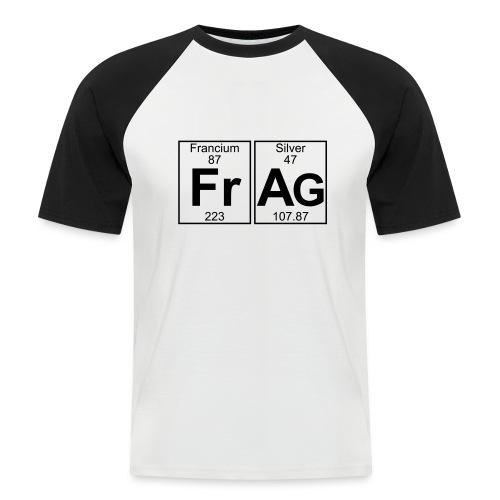 Fr-Ag (frag) - Full - Men's Baseball T-Shirt