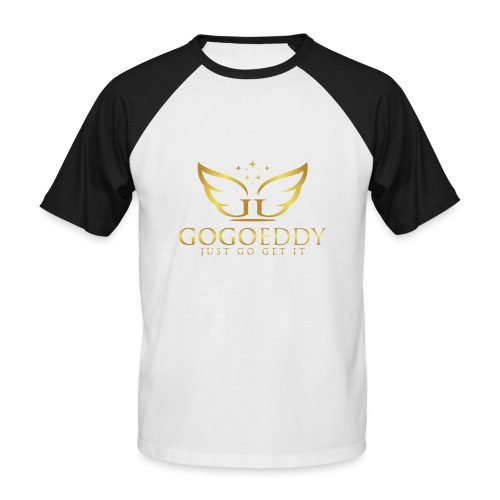 GoGo Eddy Gold Merchandise - Men's Baseball T-Shirt