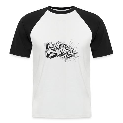 Graffiti Art 2wear Style - Kortærmet herre-baseballshirt