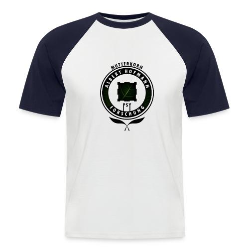 AlbertHofmann_Forschung - Männer Baseball-T-Shirt