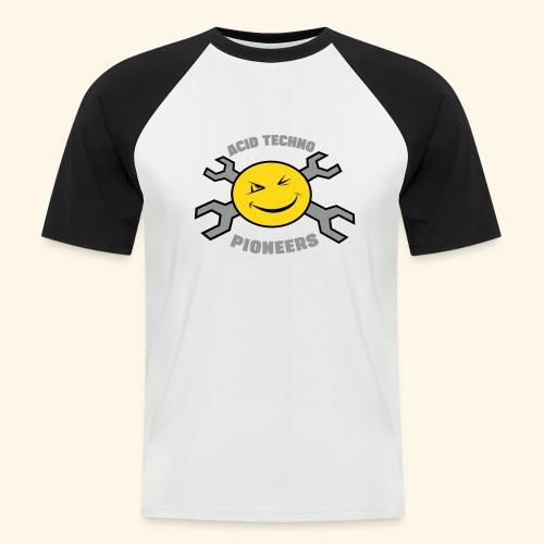 ACID TECHNO PIONEERS - SILVER EDITION - Men's Baseball T-Shirt