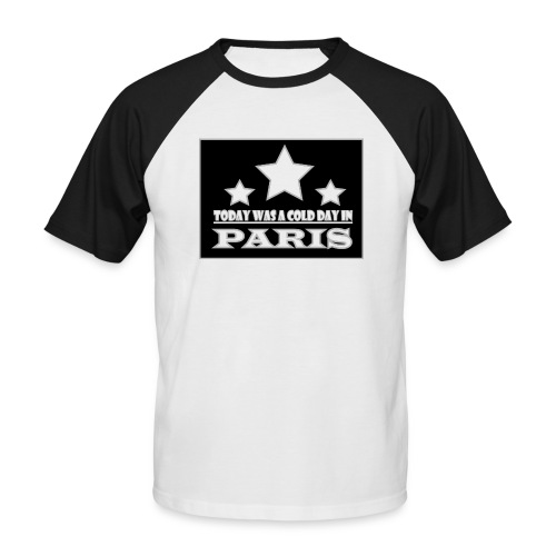 ColdParis - T-shirt baseball manches courtes Homme