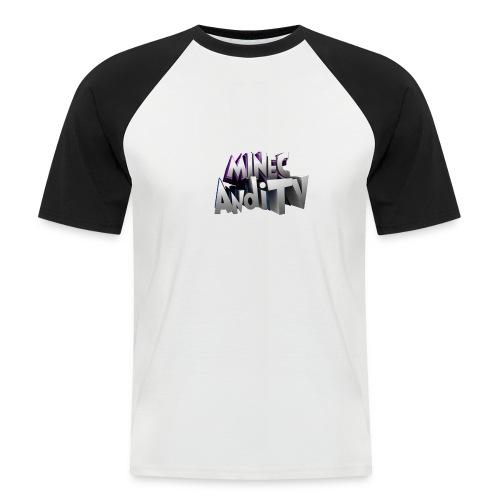 MinecAndiTV - Männer Baseball-T-Shirt