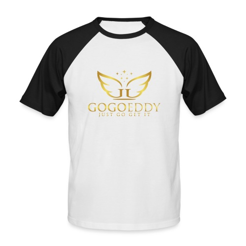 GoGo Eddy Gold Merchandise - Men's Baseball T-Shirt