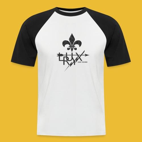Luxry (Faded Black) - Men's Baseball T-Shirt