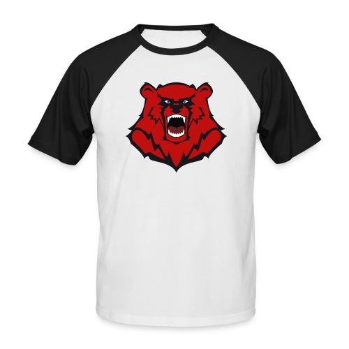 Tasche mit Bärenlogo - Männer Baseball-T-Shirt