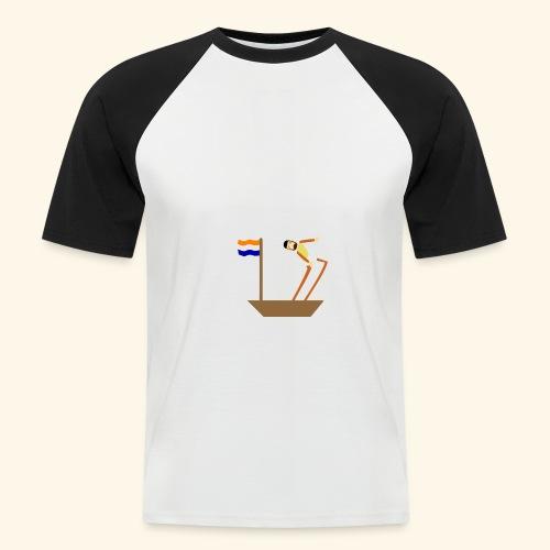 VOC-mentaliteit - Mannen baseballshirt korte mouw
