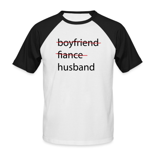 husband - Männer Baseball-T-Shirt