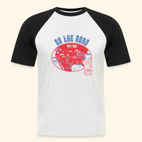 TShirtOntheRoad copy - Camiseta béisbol manga corta hombre