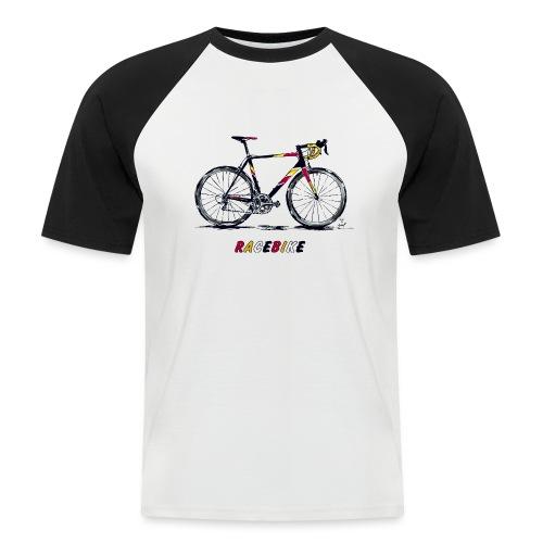 RACEBIKE - Männer Baseball-T-Shirt