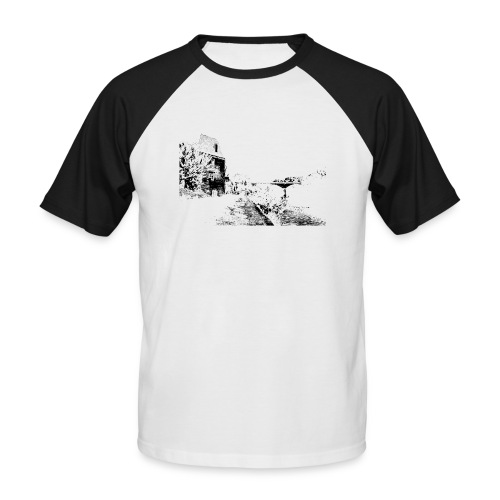 J'aime Mouleydier - Pont F - T-shirt baseball manches courtes Homme