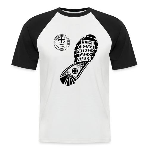 Climb Croagh Patrick Back - Men's Baseball T-Shirt