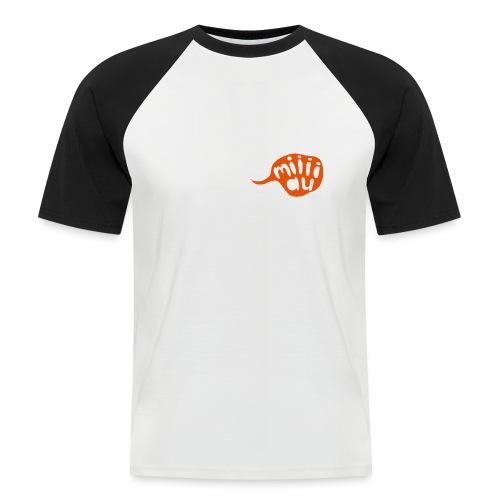 Bär sagt Miau - Männer Baseball-T-Shirt