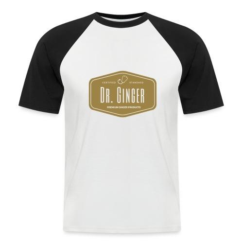 Dr. Ginger - Männer Baseball-T-Shirt