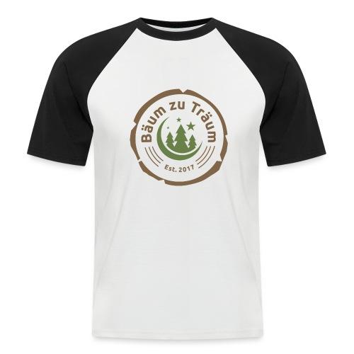 Bäum zu Träum - Männer Baseball-T-Shirt