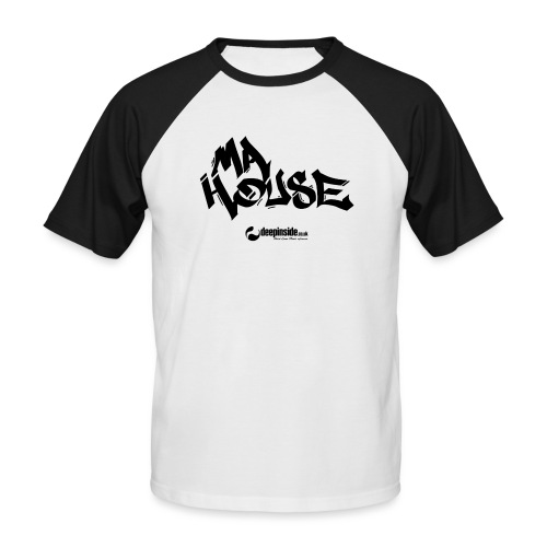 My House * by DEEPINSIDE - Men's Baseball T-Shirt