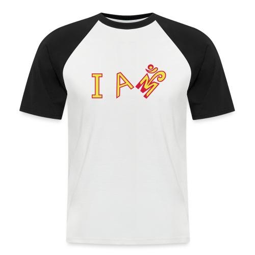 Jeg er Om - Kortærmet herre-baseballshirt